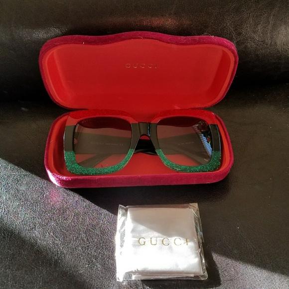 99123cc1296bc9 Gucci Accessories   Urban Gg0083s 001 Red Sunglasses   Poshmark